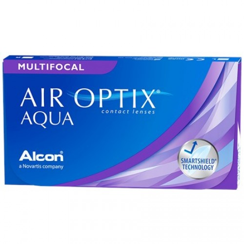 Air Optix Aqua Multifocal (3 lentes)