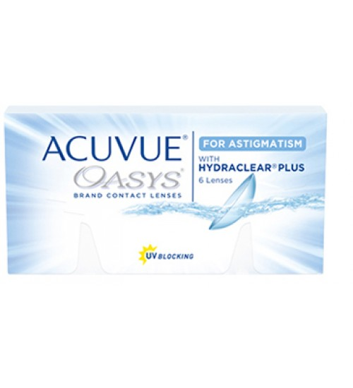 Acuvue Oasys For Astigmatism With Hydraclear Plus  (6 lentes)