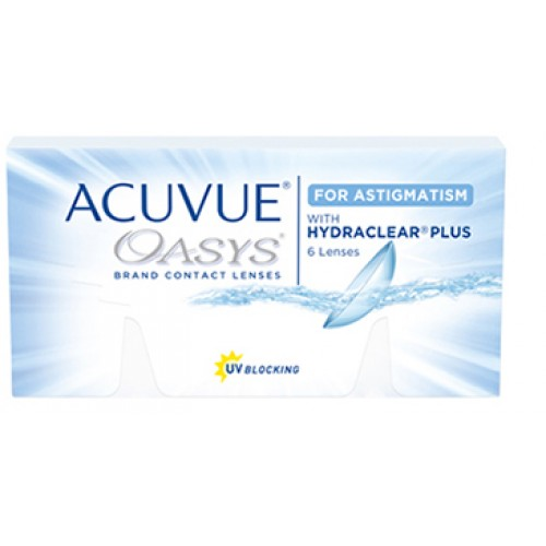 Acuvue Oasys For Astigmatism With Hydraclear Plus  (12 lentes)