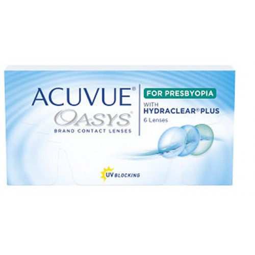 Acuvue Oasys With Hydraclear Plus For Presbyopia (12 lentes)