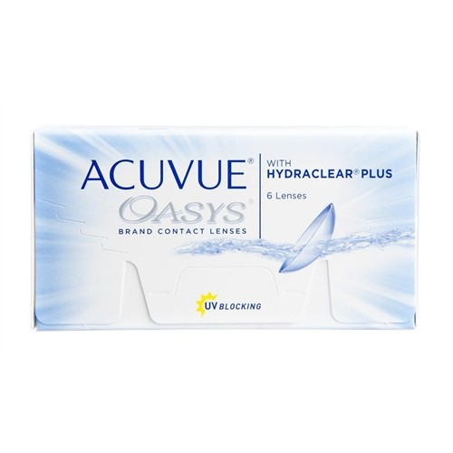 Acuvue Oasys With Hydraclear Plus (6 lentes)