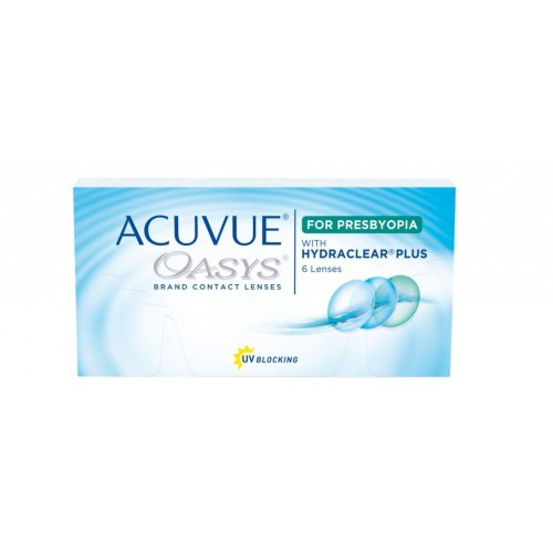 Acuvue Oasys With Hydraclear Plus For Presbyopia (6 lentes)